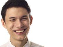 Hombre asiático joven Imágenes de archivo libres de regalías