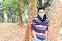 Hombre asiático joven Foto de archivo libre de regalías