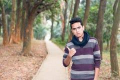 Hombre asiático joven Imagen de archivo libre de regalías
