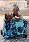 Hombre asiático pobre Fotografía de archivo