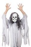 Hombre asustadizo en Halloween Fotos de archivo libres de regalías