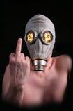Hombre atómico Imagen de archivo libre de regalías