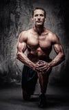 Hombre atlético de mediana edad Fotos de archivo