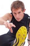 Hombre atlético joven Fotos de archivo libres de regalías