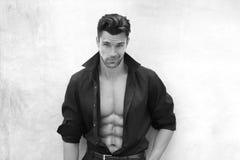 Hombre atractivo Fotografía de archivo