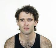 Hombre atractivo melenudo fotos de archivo libres de regalías