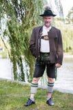 Hombre bávaro Imagenes de archivo