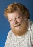 Hombre barbudo Fotografía de archivo