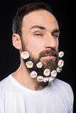 Hombre barbudo Fotos de archivo libres de regalías