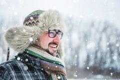 Hombre barbudo adulto Fotografía de archivo libre de regalías