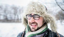 Hombre barbudo adulto Imágenes de archivo libres de regalías