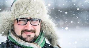 Hombre barbudo adulto Fotos de archivo