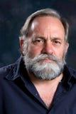 Hombre barbudo serio Imágenes de archivo libres de regalías