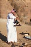 Hombre beduino Foto de archivo libre de regalías