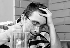 Hombre borracho Imagenes de archivo