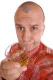 Hombre borracho foto de archivo libre de regalías