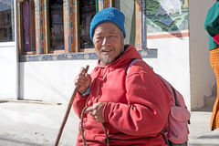 Hombre butanés, Bhután Imagen de archivo libre de regalías