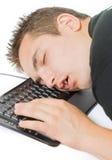 Hombre cansado fotos de archivo
