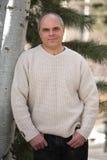 Hombre caucásico Foto de archivo libre de regalías