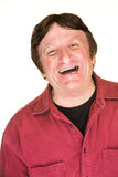 Hombre caucásico de risa Fotos de archivo