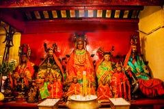 Hombre chino Mo Temple Hong Kong de dioses Imagen de archivo