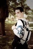 Hombre con estilo joven outdoor Fotografía de archivo