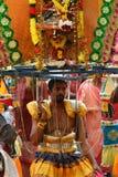 Hombre con Kavadi Fotografía de archivo libre de regalías