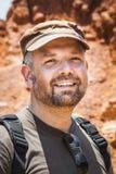 Hombre con la barba Foto de archivo
