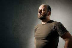Hombre con la barba imagen de archivo libre de regalías