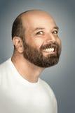 Hombre con la barba Imágenes de archivo libres de regalías