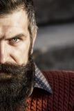 Hombre con la barba larga Imagen de archivo libre de regalías