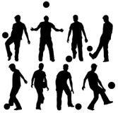Hombre con la bola libre illustration