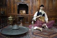 Hombre con la cachimba Foto de archivo libre de regalías