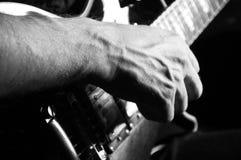 Hombre con la guitarra Imagen de archivo libre de regalías