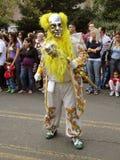 Hombre con la máscara de plata Fotografía de archivo libre de regalías