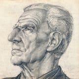 Hombre con la nariz grande Foto de archivo libre de regalías
