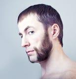 Hombre con las patillas Foto de archivo libre de regalías