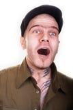 Hombre con los tatuajes Fotografía de archivo