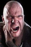 Hombre con los tatuajes Imagen de archivo