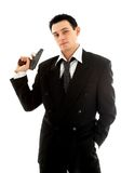 Hombre con un arma Fotos de archivo