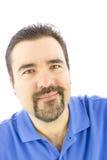 Hombre con una sonrisa positiva Imágenes de archivo libres de regalías