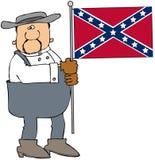 Hombre confederado Foto de archivo