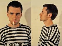 Hombre criminal imagenes de archivo