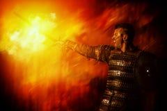 Hombre de acero Foto de archivo
