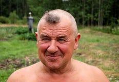 Hombre de Barbering Fotografía de archivo