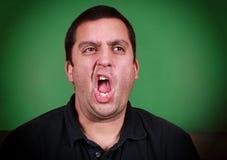 Hombre de bostezo Imagen de archivo libre de regalías