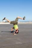 Hombre de Breakdancing fotografía de archivo