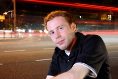 Hombre de ciudad joven Foto de archivo libre de regalías