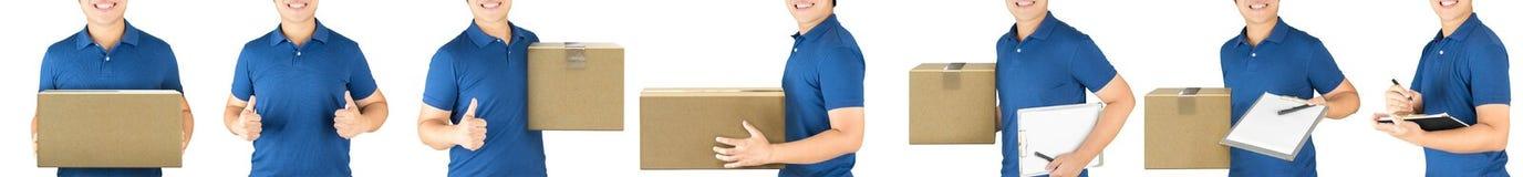 Hombre de entrega Imagen de archivo libre de regalías