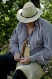 Hombre de funcionamiento Foto de archivo libre de regalías